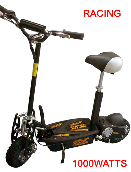 Turbo-Charged 1000 Watt Scooter