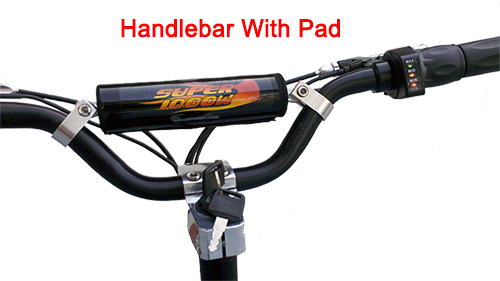 Handlebar with pad
