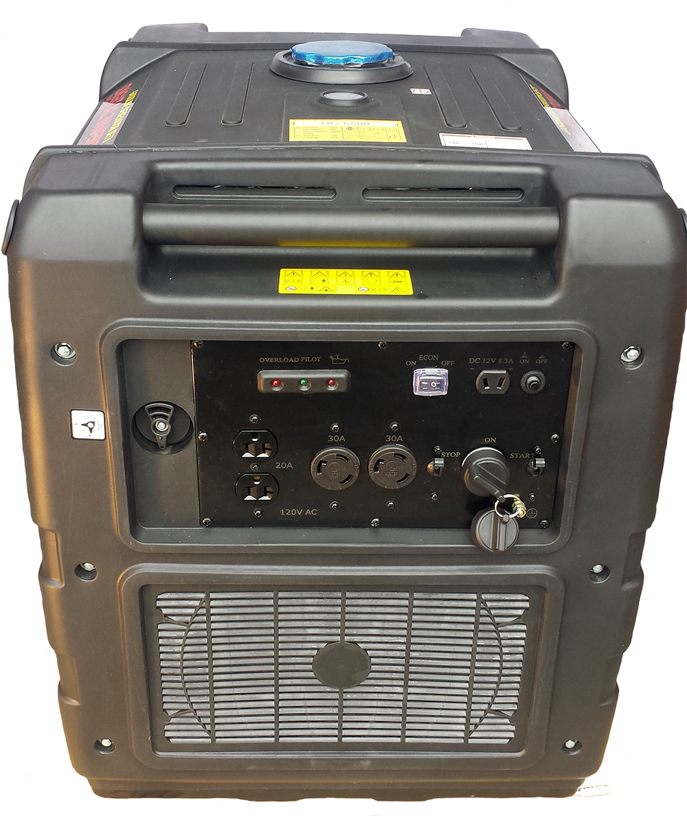 Purewave Digital 6500 Watt Gas Generator Inverter Quiet Portable Sine Wave Circuit Diagram As Well Pure In Dg