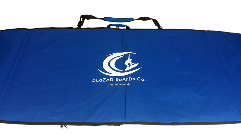 front view of carry bag with logo