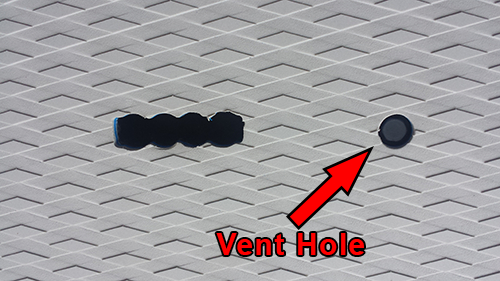 Vent hole