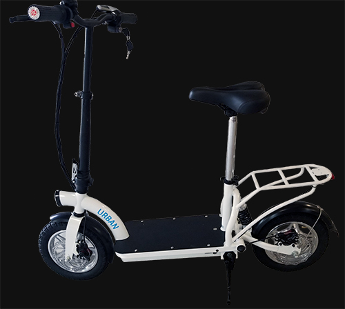 Smart Urban Lithium 500 Watt Scooter with seat