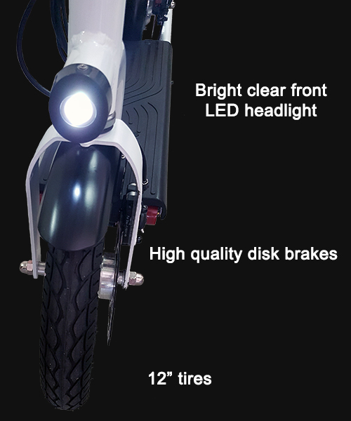 LED front headlight